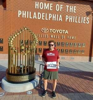 Tom Piecuch attended Philadelphia Phillies vs. Washington Nationals - MLB on Jul 26th 2021 via VetTix