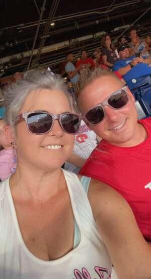 Terry flook attended Philadelphia Phillies vs. Washington Nationals - MLB on Jul 26th 2021 via VetTix