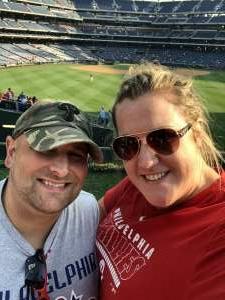 Travis attended Philadelphia Phillies vs. Washington Nationals - MLB on Jul 26th 2021 via VetTix