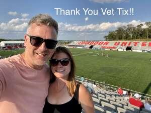Mike Venus attended Loudoun United FC vs. Hartford Athletic - USL on Jul 4th 2021 via VetTix