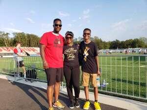 Jason attended Loudoun United FC vs. Hartford Athletic - USL on Jul 4th 2021 via VetTix