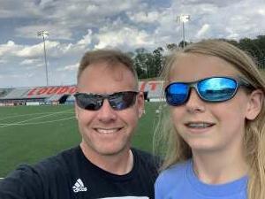Nate Allen attended Loudoun United FC vs. Hartford Athletic - USL on Jul 4th 2021 via VetTix