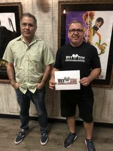 Jose attended Roadhouse Cinemas Thursday for Vets on Jul 15th 2021 via VetTix