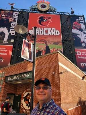 The Murray Family attended Baltimore Orioles vs. Houston Astros - MLB on Jun 23rd 2021 via VetTix