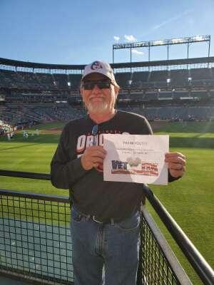 L:ee & Susan attended Baltimore Orioles vs. Houston Astros - MLB on Jun 23rd 2021 via VetTix