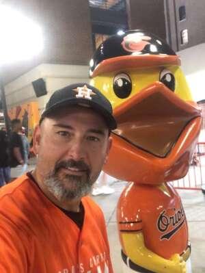 Jim attended Baltimore Orioles vs. Houston Astros - MLB on Jun 23rd 2021 via VetTix