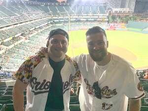 Gehrig Geissinger attended Baltimore Orioles vs. Houston Astros - MLB on Jun 23rd 2021 via VetTix