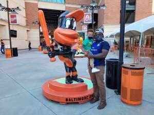 George attended Baltimore Orioles vs. Houston Astros - MLB on Jun 23rd 2021 via VetTix