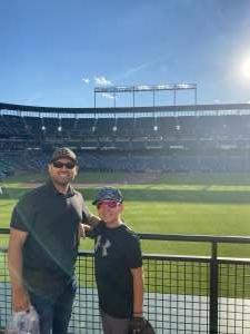 Edgar attended Baltimore Orioles vs. Houston Astros - MLB on Jun 23rd 2021 via VetTix