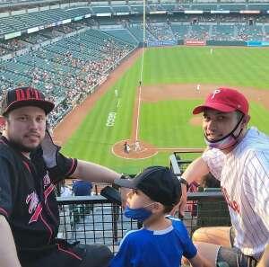Jay Amos attended Baltimore Orioles vs. Houston Astros - MLB on Jun 23rd 2021 via VetTix