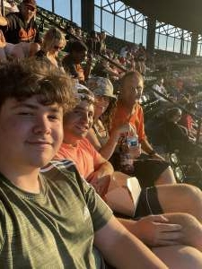 Dave, Cindy, Jason, and Noah attended Baltimore Orioles vs. Houston Astros - MLB on Jun 23rd 2021 via VetTix