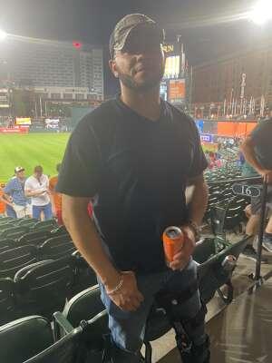 Marv attended Baltimore Orioles vs. Houston Astros - MLB on Jun 23rd 2021 via VetTix