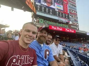 John attended Philadelphia Phillies vs. Washington Nationals - MLB on Jul 27th 2021 via VetTix
