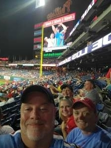 bschuetrum  attended Philadelphia Phillies vs. Washington Nationals - MLB on Jul 27th 2021 via VetTix