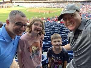 Brett L. attended Philadelphia Phillies vs. Washington Nationals - MLB on Jul 27th 2021 via VetTix