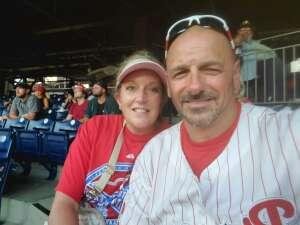 Pete  attended Philadelphia Phillies vs. Washington Nationals - MLB on Jul 27th 2021 via VetTix