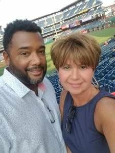 Barb attended Philadelphia Phillies vs. Washington Nationals - MLB on Jul 27th 2021 via VetTix