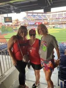 Turnbull attended Philadelphia Phillies vs. Washington Nationals - MLB on Jul 27th 2021 via VetTix