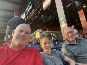 Jason Cohn attended Philadelphia Phillies vs. Washington Nationals - MLB on Jul 27th 2021 via VetTix