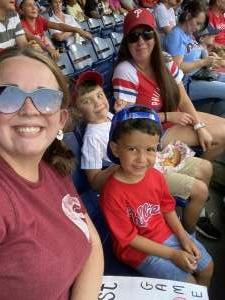 Tabitha attended Philadelphia Phillies vs. Washington Nationals - MLB on Jul 27th 2021 via VetTix