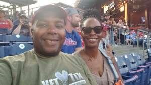 Ron attended Philadelphia Phillies vs. Washington Nationals - MLB on Jul 27th 2021 via VetTix