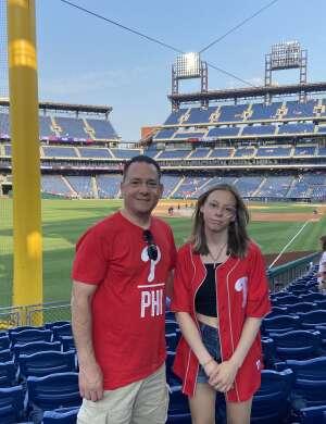 Marc attended Philadelphia Phillies vs. Washington Nationals - MLB on Jul 27th 2021 via VetTix