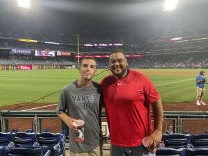 James attended Philadelphia Phillies vs. Washington Nationals - MLB on Jul 27th 2021 via VetTix