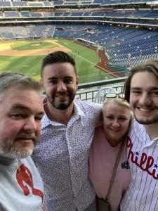 Kevin R attended Philadelphia Phillies vs. Washington Nationals - MLB on Jul 27th 2021 via VetTix