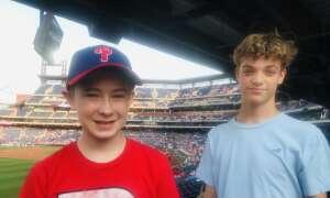 Missy  attended Philadelphia Phillies vs. Washington Nationals - MLB on Jul 27th 2021 via VetTix