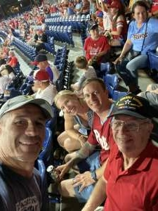 CJosephW attended Philadelphia Phillies vs. Washington Nationals - MLB on Jul 27th 2021 via VetTix