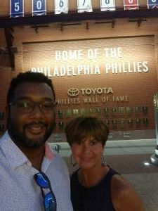 Wil Wilkerson attended Philadelphia Phillies vs. Washington Nationals - MLB on Jul 27th 2021 via VetTix
