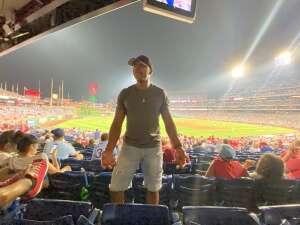 Courtney  Head attended Philadelphia Phillies vs. Washington Nationals - MLB on Jul 27th 2021 via VetTix