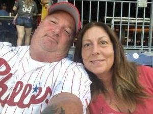 Cletus attended Philadelphia Phillies vs. Washington Nationals - MLB on Jul 27th 2021 via VetTix