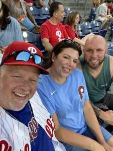 GregK attended Philadelphia Phillies vs. Washington Nationals - MLB on Jul 27th 2021 via VetTix