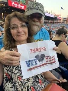 Bob attended Philadelphia Phillies vs. Washington Nationals - MLB on Jul 27th 2021 via VetTix