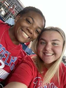 Heather  attended Philadelphia Phillies vs. Washington Nationals - MLB on Jul 27th 2021 via VetTix