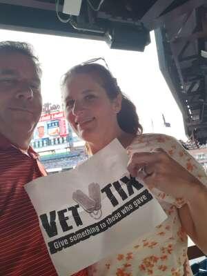 JD King attended Philadelphia Phillies vs. Washington Nationals - MLB on Jul 27th 2021 via VetTix
