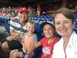 Doug J attended Philadelphia Phillies vs. Washington Nationals - MLB on Jul 27th 2021 via VetTix