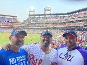 Cincyking9   attended Philadelphia Phillies vs. Washington Nationals - MLB on Jul 27th 2021 via VetTix