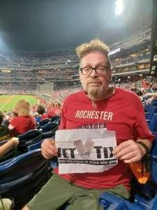 Tom Piecuch attended Philadelphia Phillies vs. Washington Nationals - MLB on Jul 27th 2021 via VetTix