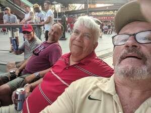 Gerry Kelly attended Philadelphia Phillies vs. Washington Nationals - MLB on Jul 27th 2021 via VetTix