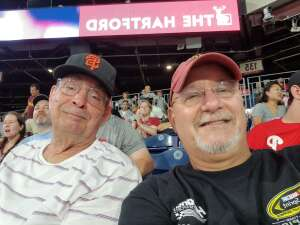 Good Dad attended Philadelphia Phillies vs. Washington Nationals - MLB on Jul 27th 2021 via VetTix