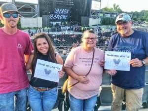 Buck Rogers attended Brad Paisley Tour 2021 on Jul 22nd 2021 via VetTix