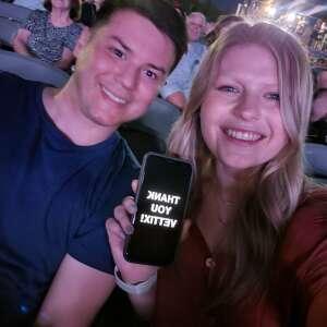Mallory VanMeter attended Brad Paisley Tour 2021 on Jul 22nd 2021 via VetTix
