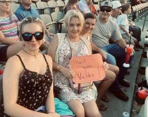 Johnson Family attended Brad Paisley Tour 2021 on Jul 22nd 2021 via VetTix