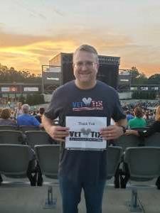 Michael attended Brad Paisley Tour 2021 on Jul 22nd 2021 via VetTix