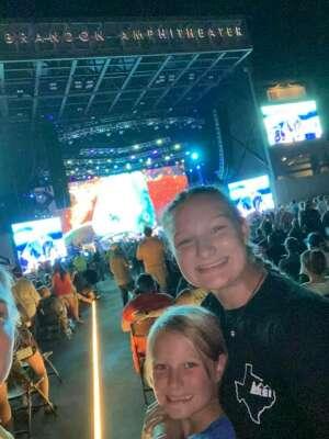 FlynnFam attended Brad Paisley Tour 2021 on Jul 22nd 2021 via VetTix