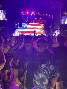 Lyle Tadlock  attended Brad Paisley Tour 2021 on Jul 22nd 2021 via VetTix