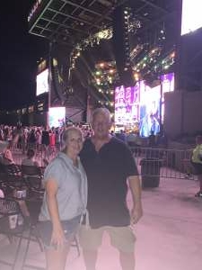 Radine Bultman attended Brad Paisley Tour 2021 on Jul 22nd 2021 via VetTix