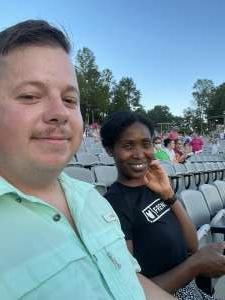 Ebony Sanders attended Brad Paisley Tour 2021 on Jul 22nd 2021 via VetTix